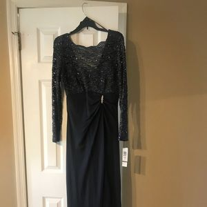 Dresses & Skirts - slate grey color tags attached gown!